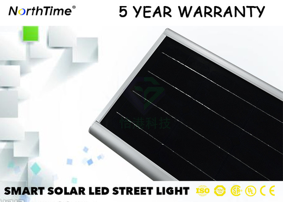 China Garantía del brillo LED Bridgelux 5 Yaer la mayoría de los 30 vatios potentes de calle solar Llight con LiFePO4 distribuidor